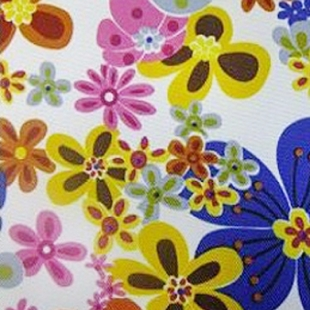 Printed polyester 600D fabric
